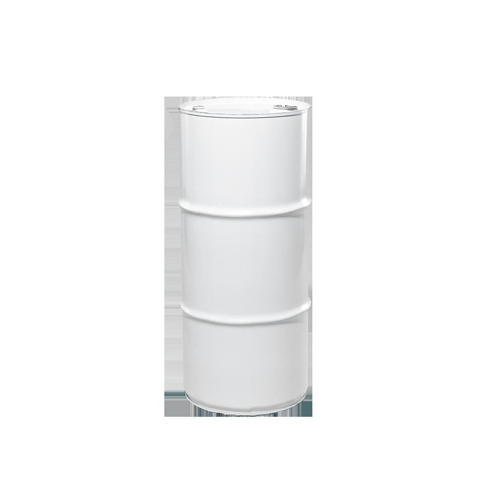 20 Gallon White Tight Head Unlined Steel Drum|