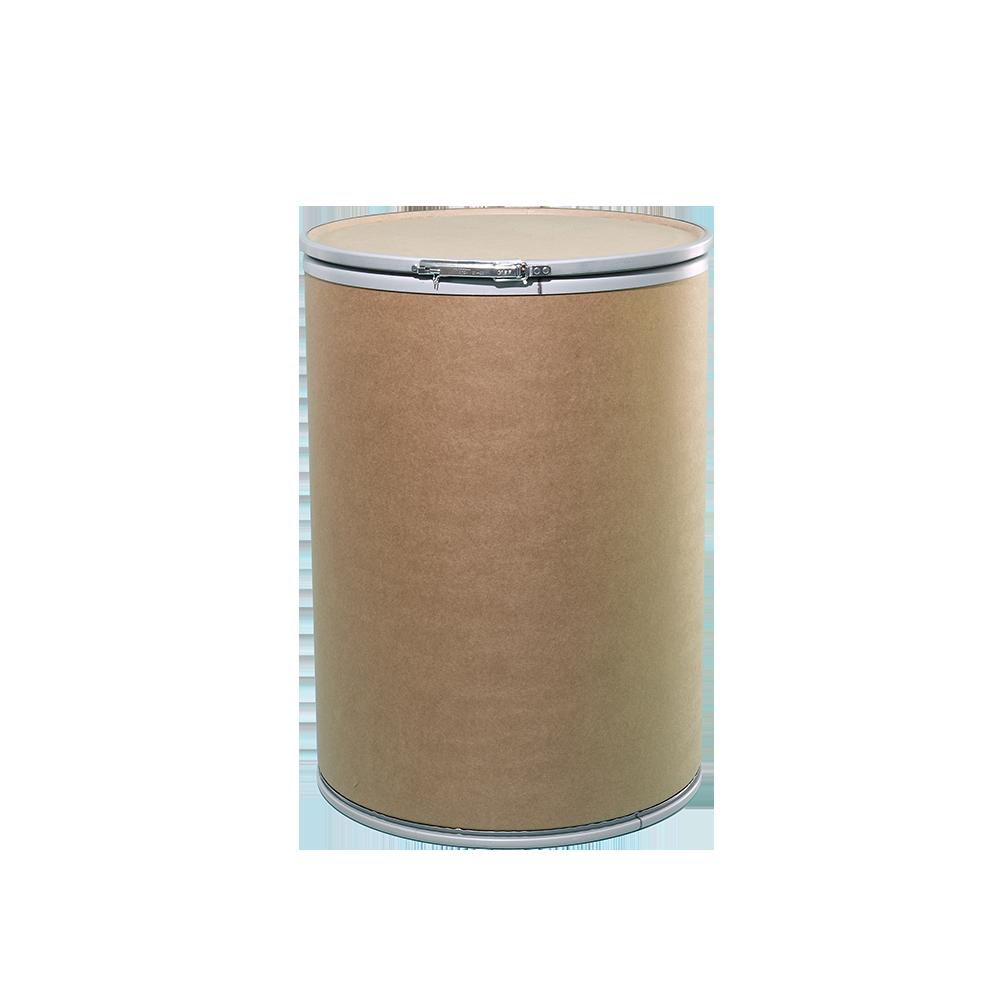 47 Gallon Openhead Dry Fiber Drum w/Fiber Cover|