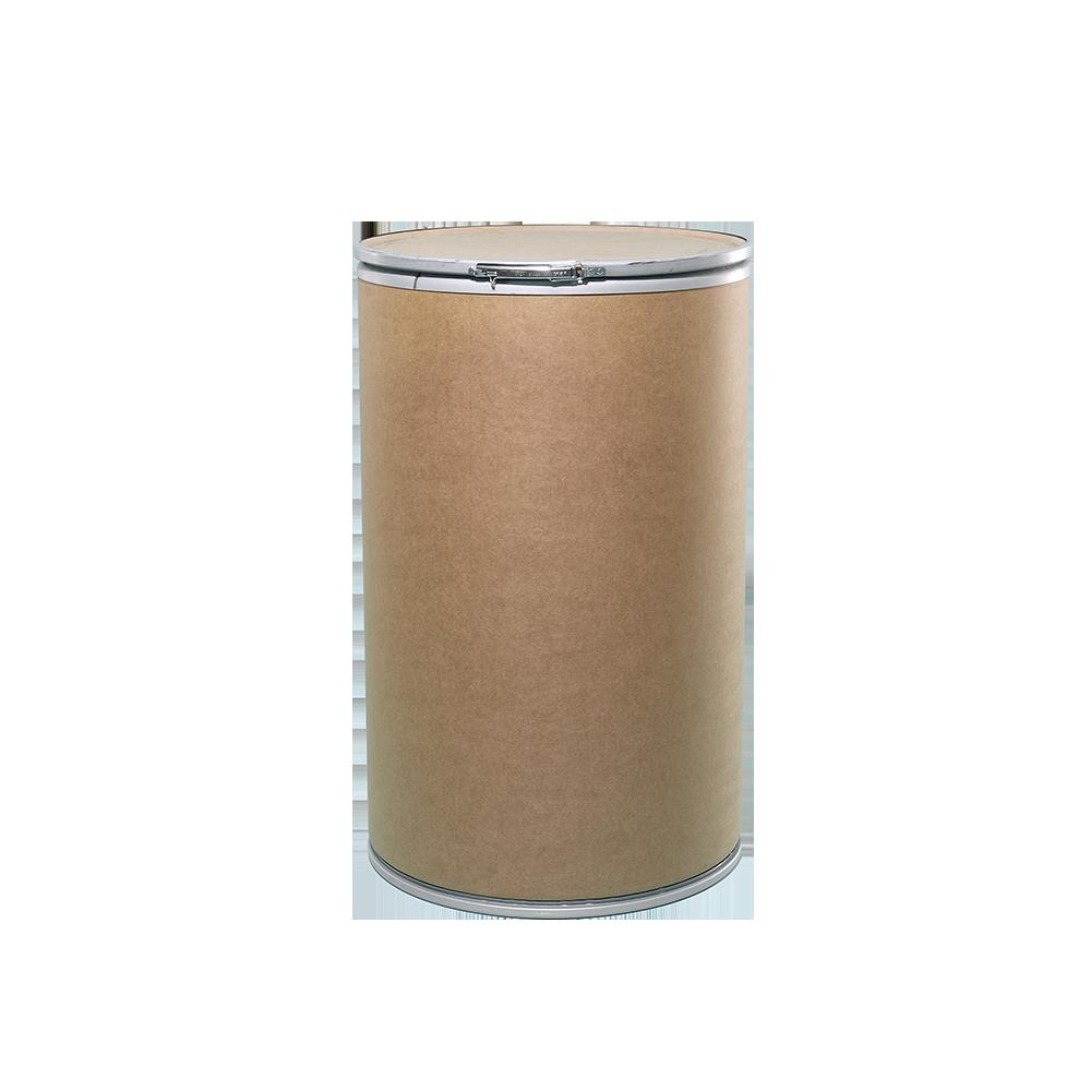 55 Gallon Openhead Dry Fiber Drum w/Fiber Cover|