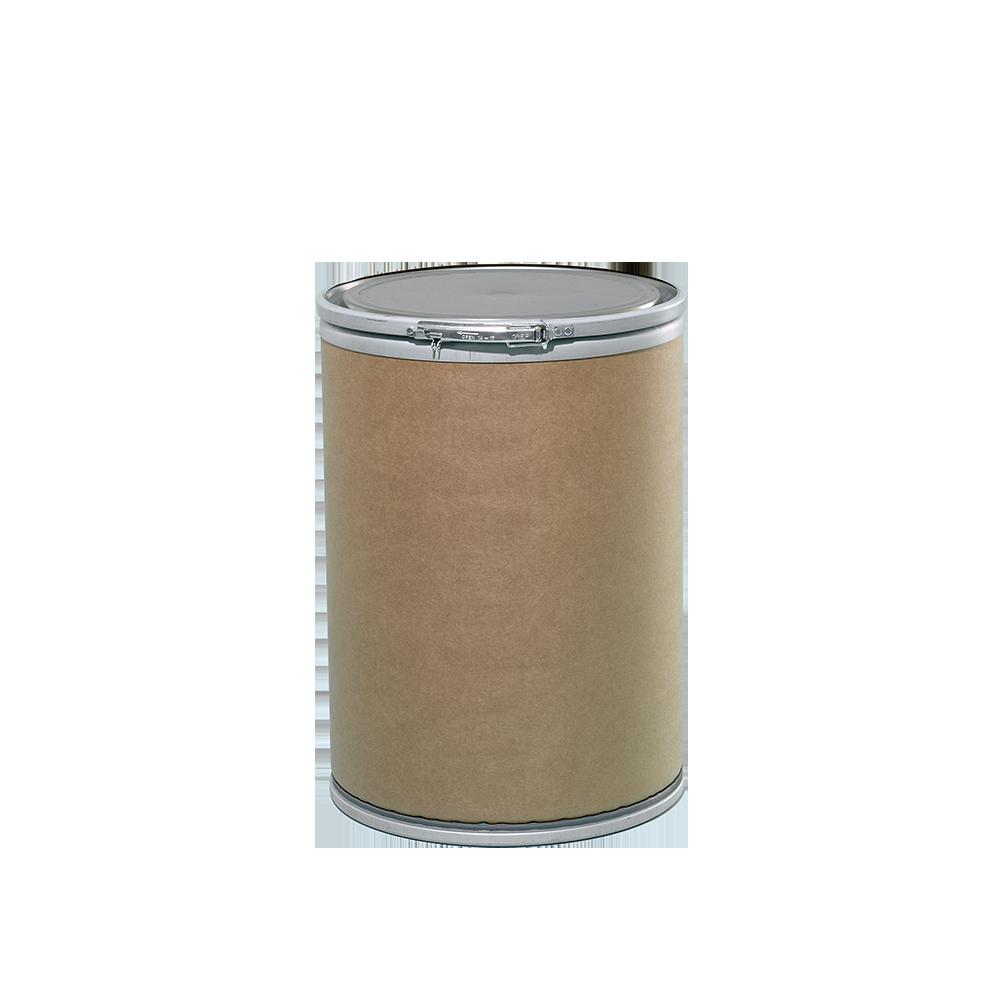 17.5 Gallon Openhead Dry Fiber Drum w/Fiber Cover|